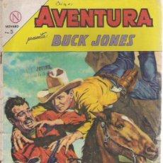 Tebeos: AVENTURAS BUCK JONES NOVARO AÑO 1964. Lote 14549583