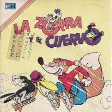 Tebeos: LA ZORRA Y EL CUERVO NOVARO AÑO 1974. Lote 14549600