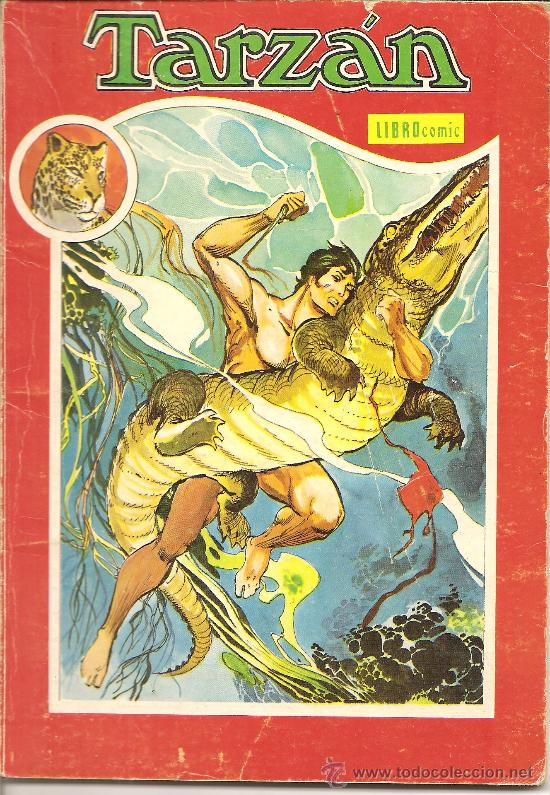 TARZAN LIBRO COMIC Nº XIII (Tebeos y Comics - Novaro - Tarzán)