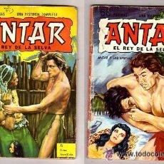 Tebeos: ANTAR RARA FOTONOVELA DE TARZAN DE JOHNNY WEISSMULLER EN ESPAÑOL !!. Lote 21576084