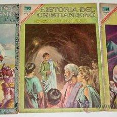 Tebeos: HISTORIAS DEL CRISTIANISMO LOTE DE 3 TEBEOS Nº 2, 12, 14 - EDITORIAL NOVARO - NOVARO - OPORTUNIDAD.. Lote 23476509