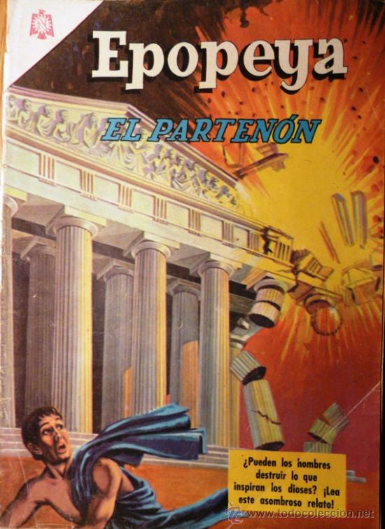 EPOPEYA # 98 EL PARTENON EDITORIAL NOVARO 1966 EXCELENTE ESTADO (Tebeos y Comics - Novaro - Epopeya)
