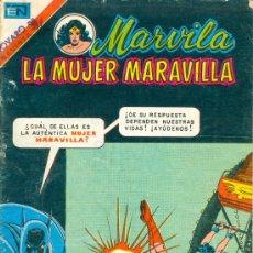 Tebeos: MARVILA (WONDER WOMAN). ED. NOVARO. NÚM. 223. SERIE AVESTRUZ. (1979). CON BATMAN.. Lote 25225167