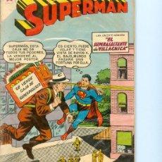 Tebeos: SUPERMÁN NOVARO. NÚM. 178 (1959).. Lote 26621440