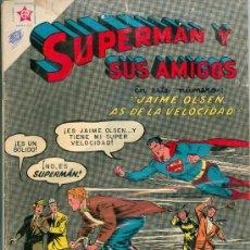 Tebeos: SUPERMAN Y SUS AMIGOS. NOVARO. LOTE DE 11 NÚMEROS (1955) (TAMBIÉN POR SEPARADO).. Lote 140721792