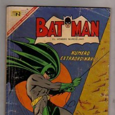 Tebeos: BATMAN NÚMERO EXTRAORDINARIO NOVARO 1º MARZO 1967. Lote 27503043