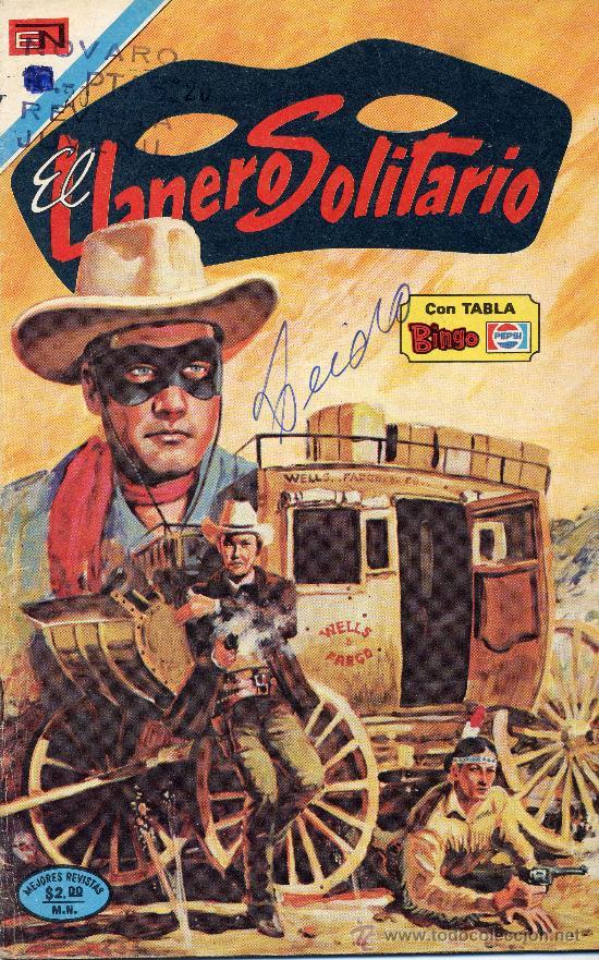 EL LLANERO SOLITARIO Nº333 (EDITOR. NOVARO, 1975) (Tebeos y Comics - Novaro - El Llanero Solitario)