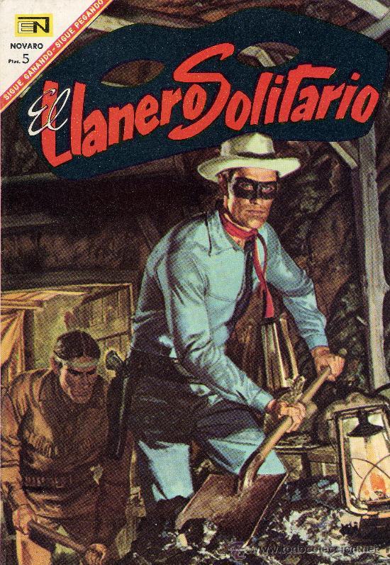 EL LLANERO SOLITARIO Nº168 (EDITOR. NOVARO, 1968) (Tebeos y Comics - Novaro - El Llanero Solitario)