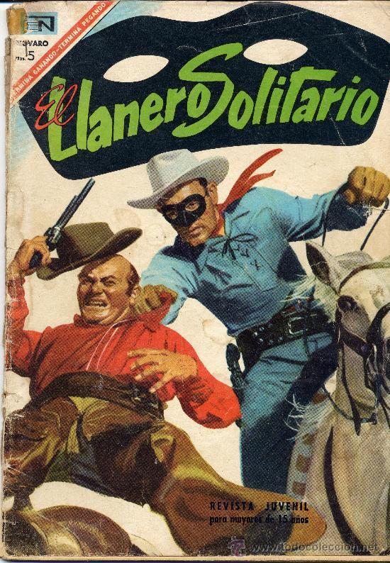 EL LLANERO SOLITARIO Nº171 (EDITOR. NOVARO, 1967) (Tebeos y Comics - Novaro - El Llanero Solitario)