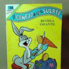 BDs: COMIC O TBO, EDITORIAL NOVARO, EN, EL CONEJO DE LA SUERTE, BUGS BUNNY, 1968. Lote 16292912