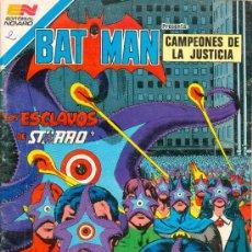 Tebeos: BATMAN NOVARO. SERIE ÁGUILA. CON SUPERMAN. LOTE DE 17 NÚMEROS. TAMBIÉN POR SEPARADO.. Lote 25238556