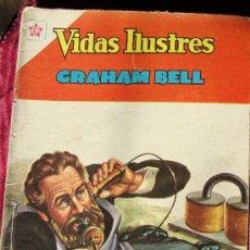 Tebeos: VIDAS ILUSTRES - GRAHAM BELL - EDICIONES RECREATIVAS - MEXICO. Lote 16581478