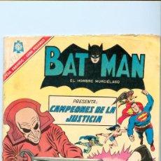 Tebeos: BATMAN NOVARO. LOTE DE 11 COMICS (1965-1971). TODOS CON SUPERMÁN. TAMBIÉN POR SEPARADO.. Lote 25110095