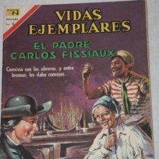 Tebeos: VIDAS EJEMPLARES Nº258 EL PADRE FISSIAUX.NOVARO 1967 . Lote 25141893