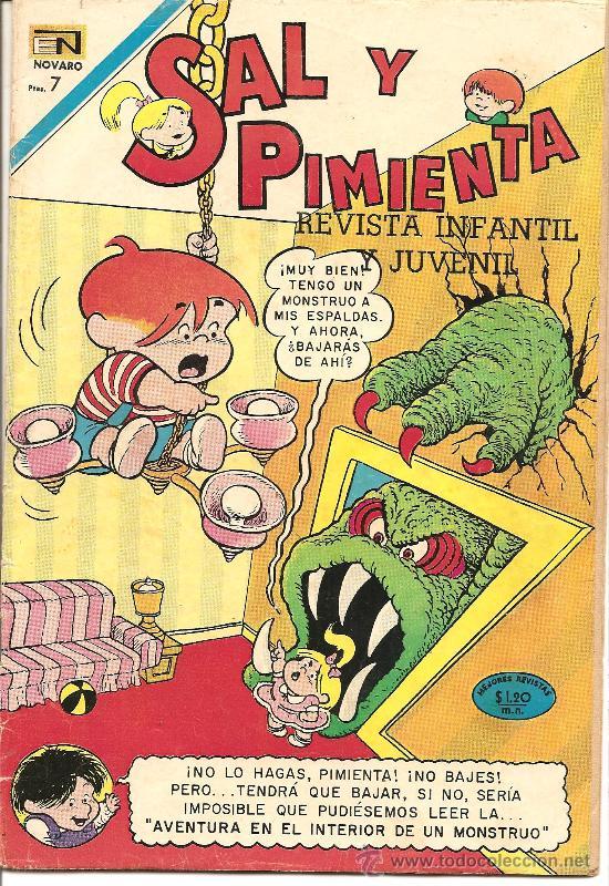 SAL Y PIMIENTA Nº 61 (Tebeos y Comics - Novaro - Otros)