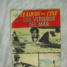 Tebeos: CLASICOS DEL CINE,LOS VERDUGOS DEL MAR Nº 16-1958. Lote 25735382