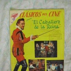 Tebeos: CLASICOS DEL CINE,EL CABALLERO DE LA REINA Nº 26-1959. Lote 25735363