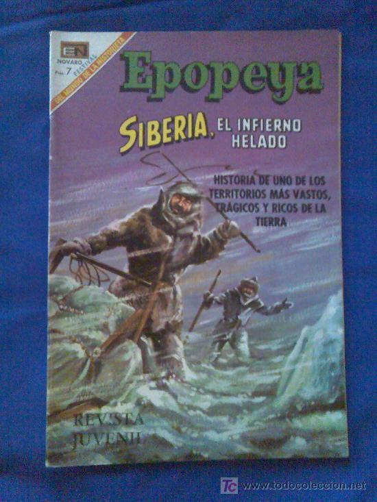 EPOPEYA Nº 128 (Tebeos y Comics - Novaro - Epopeya)