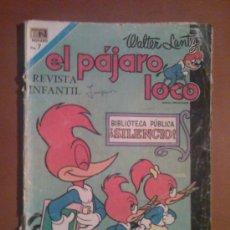 Tebeos: EL PAJARO LOCO Nº 355 --NOVARO--. Lote 17496299