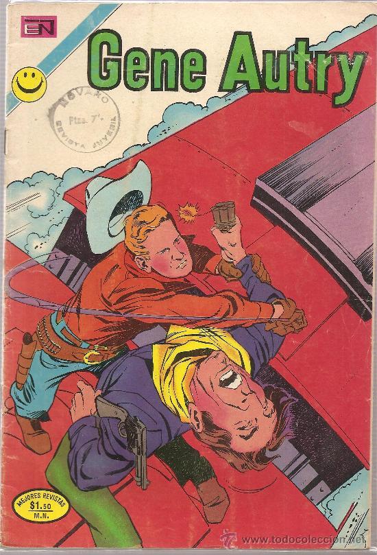 GENE AUTRY Nº 263 (Tebeos y Comics - Novaro - Otros)