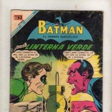 Tebeos: BATMAN PRESENTA LINTERNA VERDE Nº424 (1968) NOVARO. Lote 21375765