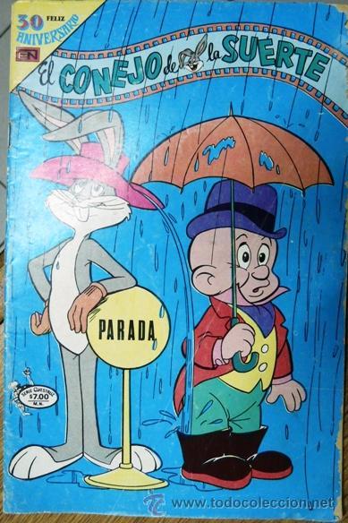 2d8e04c68d06 el conejo de la suerte # 3-68 - serie avestruz - Comprar Tebeos El ...