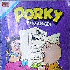 Tebeos: PORKY Y SUS AMIGOS # 3-70 - SERIE AVESTRUZ - EDITORIAL NOVARO - AÑO 1981 - JOYA DE COLECCION. Lote 17616501