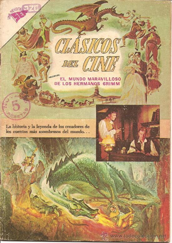 CLASICOS DEL CINE Nº 90 EL MUNDO MARAVILLOSO DE LOS HERMANOS GRIMM (Tebeos y Comics - Novaro - Otros)