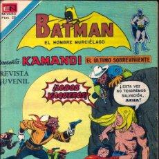 Tebeos: BATMAN PRESENTA KAMANDI EL ULTIMO SOBREVIVIENTE. NUMERO 2-932 (SERIE AGUILA) 20/07/1978. Lote 26473585
