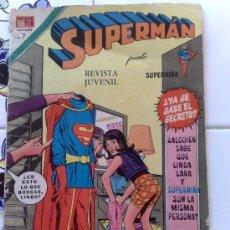Tebeos: SUPERMAN : REVISTA JUVENIL NOVARO AÑO 1972 Nº 888 . Lote 27435033