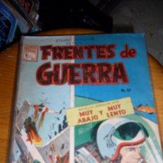 BDs: FRENTES DE GUERRA NUMERO 107 NORMAL ESTADO REF.30. Lote 18332585