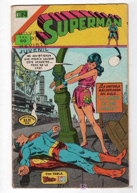 SUPERMAN. EDITORIAL NOVARO AÑO XXIII. Nº 993. 28 DICIEMBRE 1974 (Tebeos y Comics - Novaro - Superman)