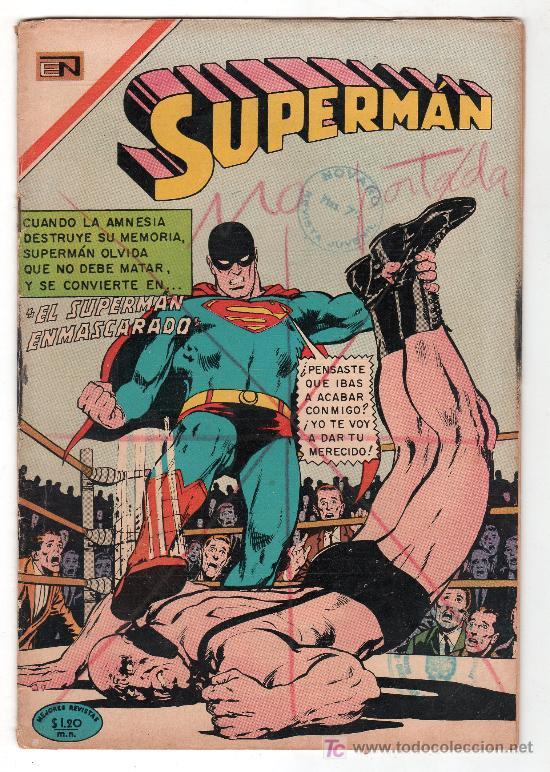 SUPERMAN. EDITORIAL NOVARO AÑO XIX. Nº 754. 1 ABRIL 1970 (Tebeos y Comics - Novaro - Superman)
