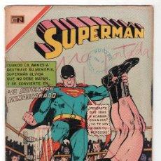 Tebeos: SUPERMAN. EDITORIAL NOVARO AÑO XIX. Nº 754. 1 ABRIL 1970. Lote 18569599