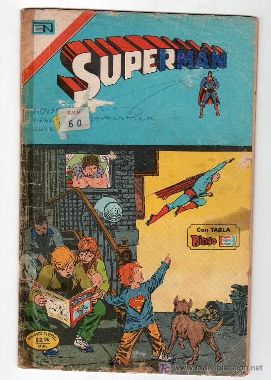 SUPERMAN. EDITORIAL NOVARO AÑO XXIII. Nº 999. 8 FEBRERO 1975 (Tebeos y Comics - Novaro - Superman)