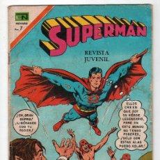 Tebeos: SUPERMAN. EDITORIAL NOVARO AÑO XX. Nº 831. 20 OCTUBRE 1971. Lote 155154960