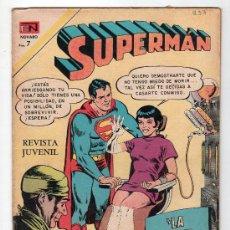 Tebeos: SUPERMAN. EDITORIAL NOVARO AÑO XX. Nº 833. 3 NOVIEMBRE 1971. Lote 18569723