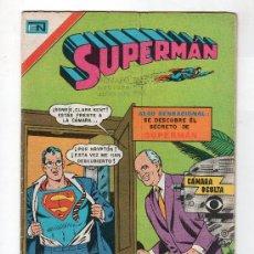 Tebeos: SUPERMAN. EDITORIAL NOVARO SERIE AVESTRUZ AÑO V. Nº 352. 8 SEPTIEMBRE 1979. Lote 20951959