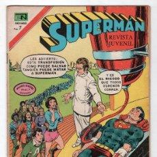 Tebeos: SUPERMAN. EDITORIAL NOVARO AÑO XXI. Nº 886. 8 DICIEMBRE 1972. Lote 18569741
