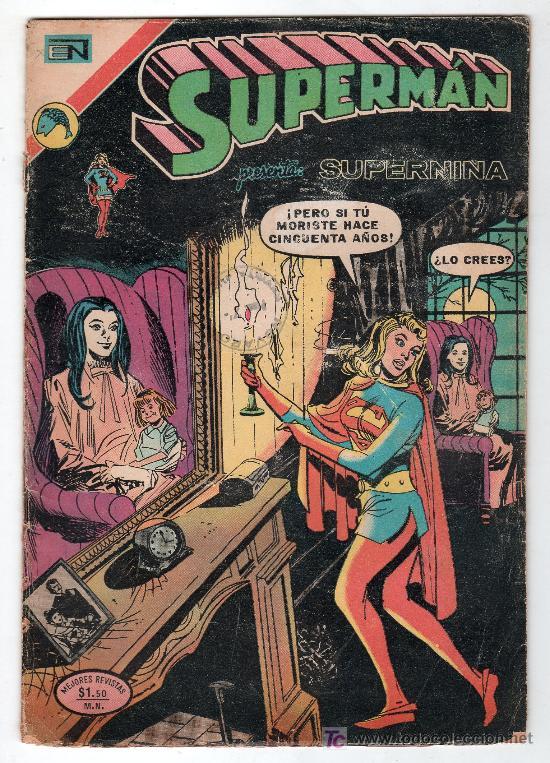 SUPERMAN. EDITORIAL NOVARO AÑO XXI. Nº 893. 3 ENERO 1973 (Tebeos y Comics - Novaro - Superman)