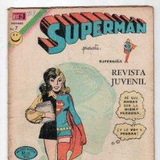 Tebeos: SUPERMAN. EDITORIAL NOVARO AÑO XXI. Nº 883. 25 OCTUBRE 1972. Lote 18569804
