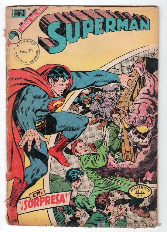 SUPERMAN. EDITORIAL NOVARO AÑO XXII. Nº 911. 9 MAYO 1973 (Tebeos y Comics - Novaro - Superman)