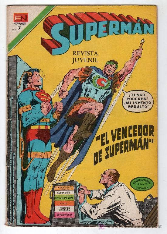 SUPERMAN. EDITORIAL NOVARO AÑO XXI. Nº 891. 5 ENERO 1973 (Tebeos y Comics - Novaro - Superman)