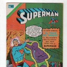 Tebeos: SUPERMAN. EDITORIAL NOVARO SERIE AVESTRUZ AÑO IV. Nº 337. 12 JULIO 1978. Lote 20951961