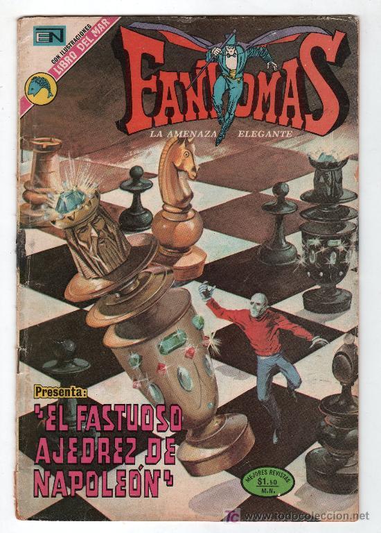 FANTOMAS. EDITORIAL NOVARO AÑO V. Nº 121. 23 JUNIO 1973 (Tebeos y Comics - Novaro - Otros)