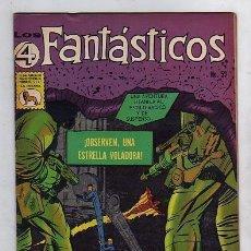 Tebeos: LOS 4 FANTASTICOS Nº59 - LA PRENSA MEXICANA - FANTASTIC FOUR. Lote 18879219