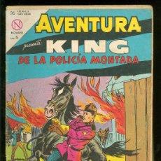 Tebeos: AVENTURA. KING DE LA POLICIA MONTADA. Nº 321.. Lote 21373740