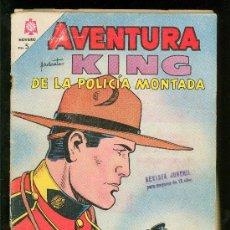 Tebeos: AVENTURA. KING DE LA POLICIA MONTADA. Nº 347.. Lote 21373741