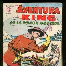 Tebeos: AVENTURAS. KING DE LA POLICIA MONTADA. Nº 313.. Lote 23445604