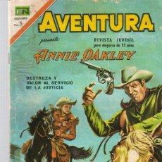 Tebeos: AVENTURA,ANNIE OAKLEY Nº 509 - ED.NOVARO 1967. Lote 22219781